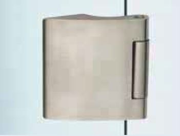 Vertikální pant V-402 ECO stříbrný hliník (V-402 ECONOMY 2TLG AN)
