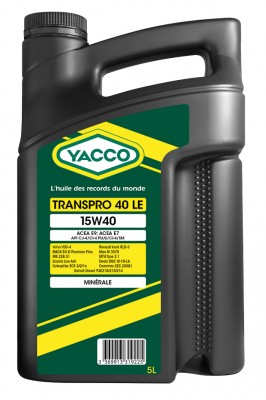 YACCO TRANSPRO 40 LE 15W40