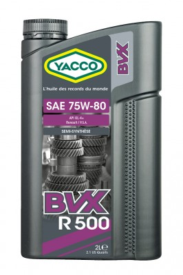 YACCO BVX R 500 75W80