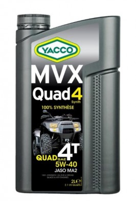 YACCO MVX QUAD 4 SYNTH 5W40