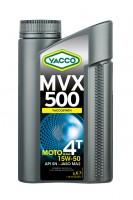 YACCO MVX 500 4T 15W50