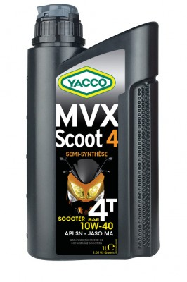 YACCO MVX SCOOT 4T 10W40
