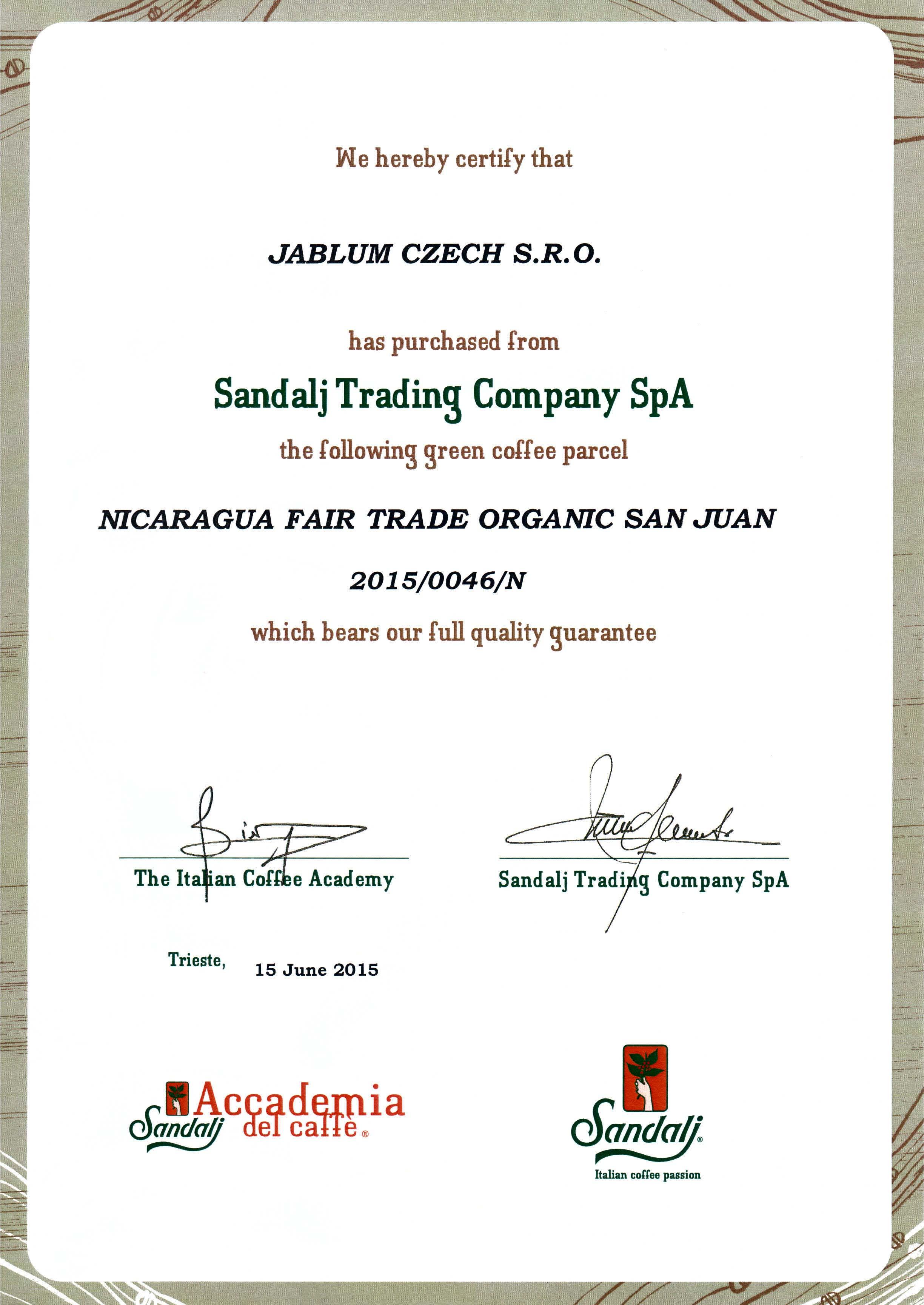 Certifikace Fair Trade